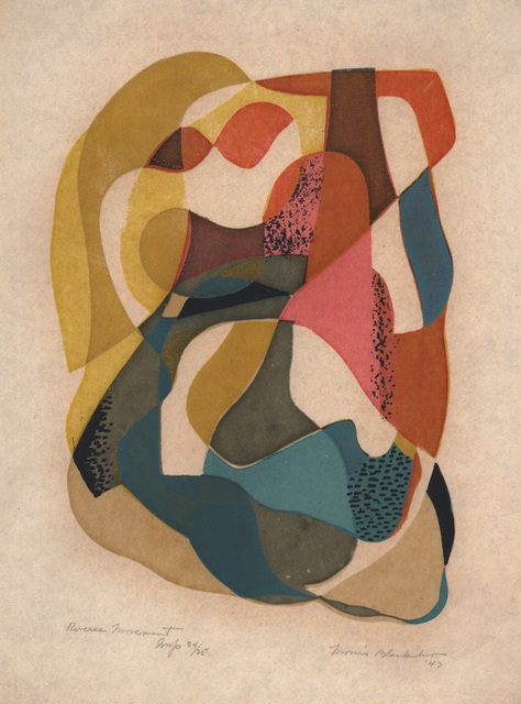 , 'Reverse Movement 1947,' 1947, Dolan/Maxwell