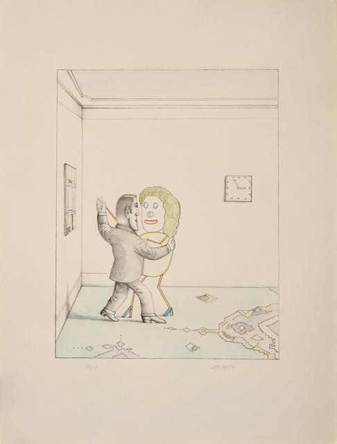 Saul Steinberg, 'Tango', Hindman