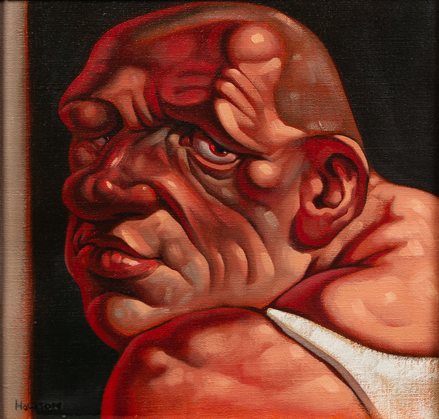Peter Howson, 'Me Again', 1992-93, Painting, Oil on canvas, Hindman