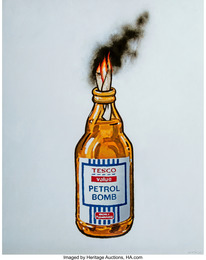 Tesco Value Petrol Bomb, poster
