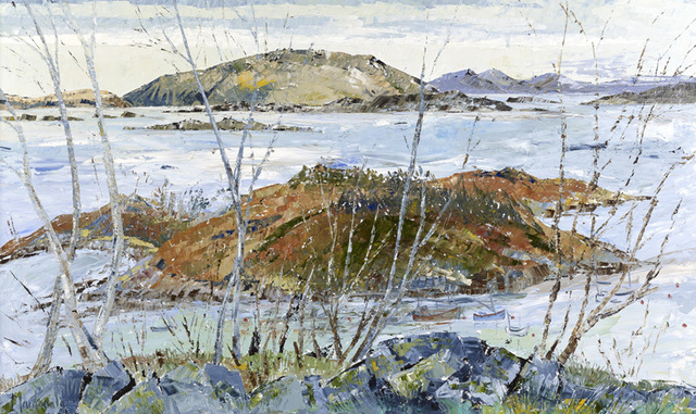 Frances Macdonald, 'View from my Studio - Towards Mull', 2017, Portland Gallery