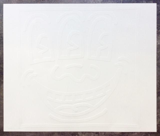 , 'Three Eyed Man (Smiley Face) from the White Icons portfolio,' 1990, Joseph Fine Art LONDON