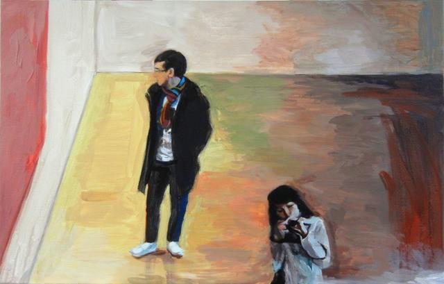 , 'Sans titre (Exposition),' 2015, Lange + Pult