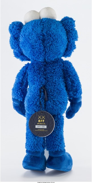 KAWS, 'BFF', 2016, Other, Blue plush figure, Heritage Auctions