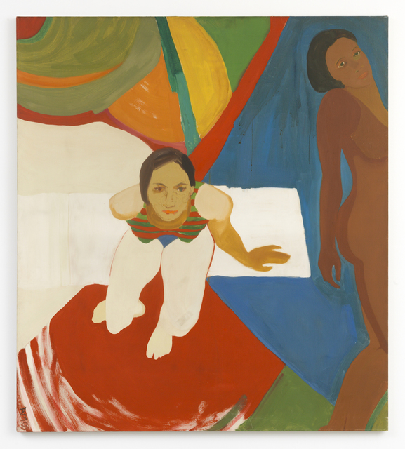 , 'Seated Figure and Nude,' 1966, RYAN LEE