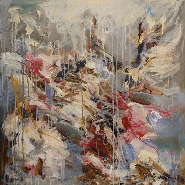 Mandy Racine, 'Virtue', 2020, Painting, Mixed media on canvas, Ricardo Van Parmar Gallery