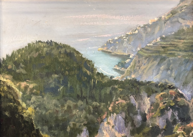 , 'Above Ravello,' , Stafford Gallery