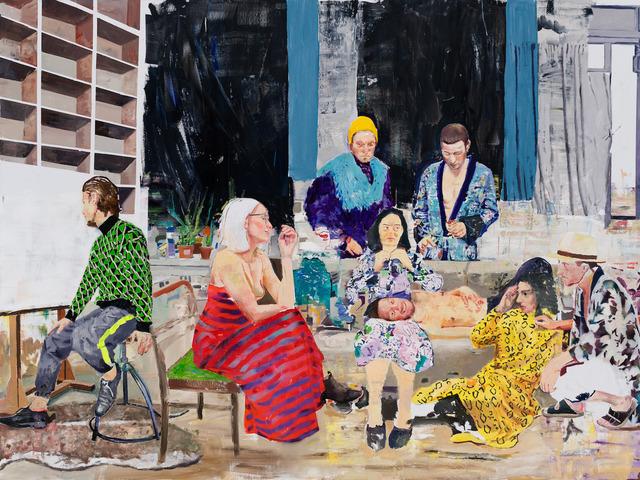 Marius Bercea, 'Thieves of Time', 2019, François Ghebaly