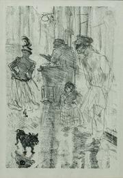 Le marchand de marrons (The Roasted-Chestnut Vendor)