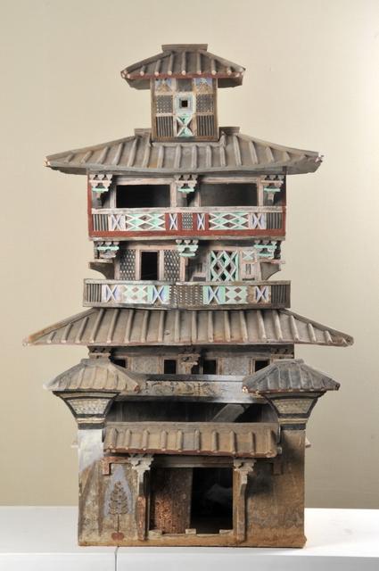 'Model of a five-level granary', 25 -220 AD, Musée national des arts asiatiques - Guimet