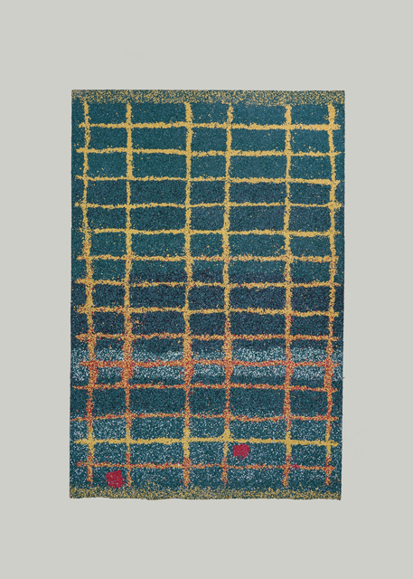 ", 'Carpet ""Homage to unknown weaver of Boujad"",' 2018, Etage Projects"