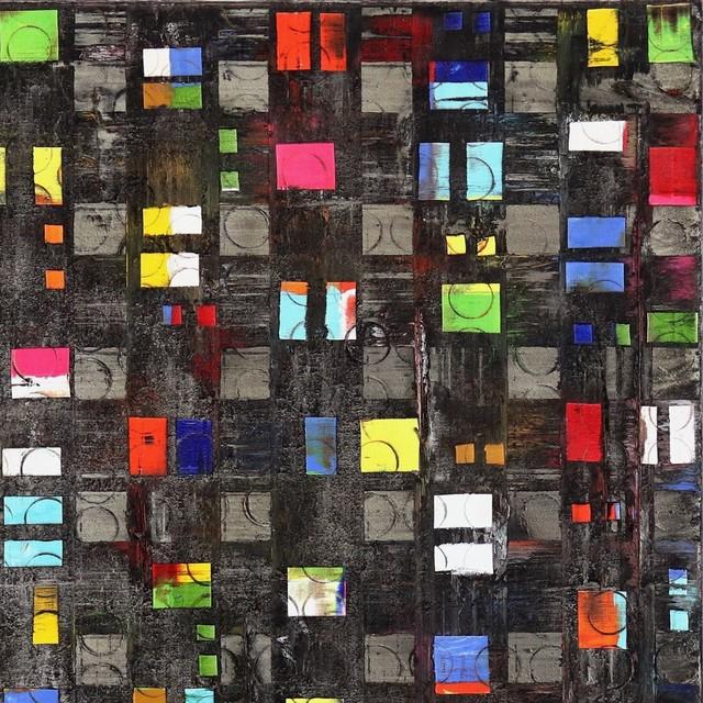 Petra Rös-Nickel, 'Black Insight', 2019, Painting, Mixed Media, Oil on Canvas, Artspace Warehouse