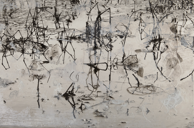 , 'Water Reeds,' 2016, FRED.GIAMPIETRO Gallery