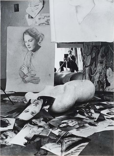 Erwin Blumenfeld, 'Self-Portrait in his Paris Studio, Paris', 1938, Osborne Samuel