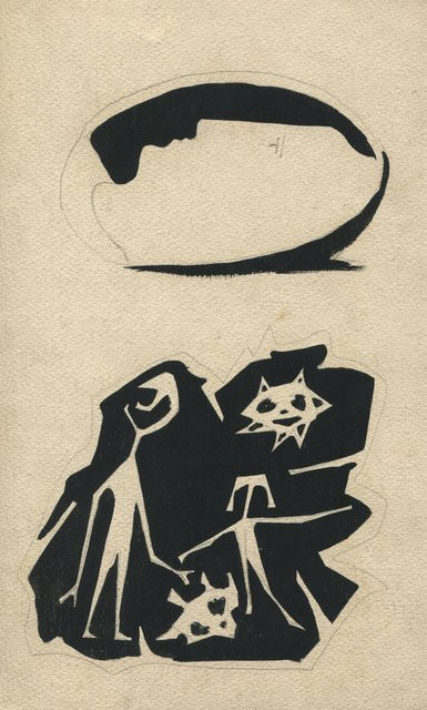 , 'Composition,' 1942, Jorge Mara - La Ruche