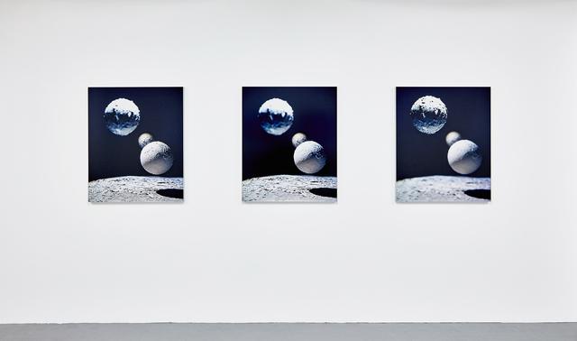 , 'MARS 07-3, MARS 07-5, MARS 07-6,' 2015, In Situ - Fabienne Leclerc