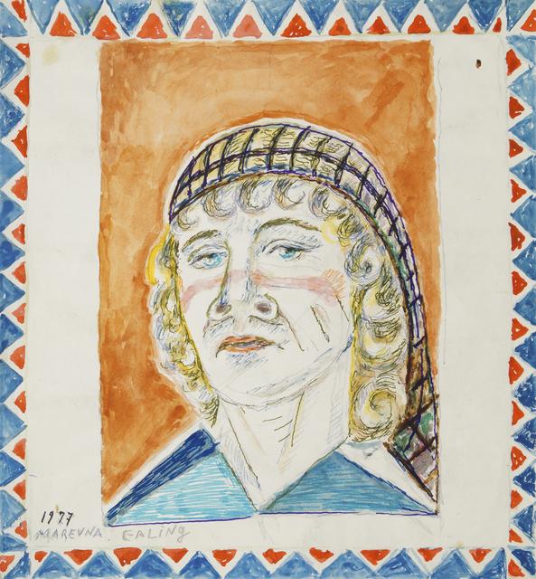 Marie Vorobieff Marevna, 'Self-portrait of the artist', 1977, Roseberys
