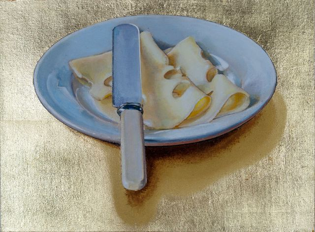 , 'Plate of Cheese,' , Plus One Gallery