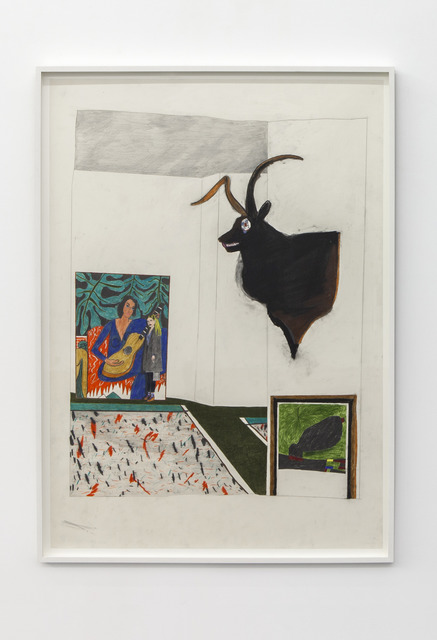, 'Deer, Matisse and Miro,' 2015, Tatjana Pieters