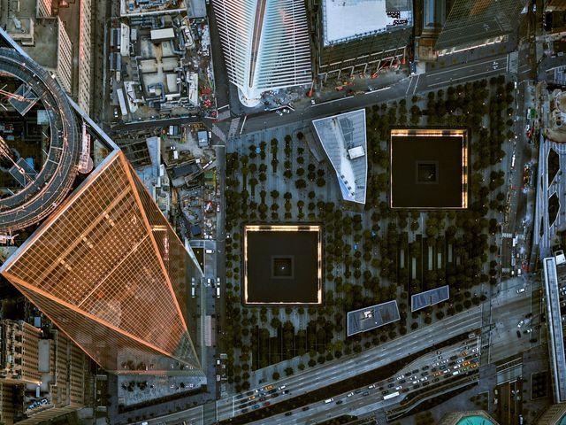, 'NYC 9/11 Memorial - NY Aerials,' 2016, ARTITLEDcontemporary