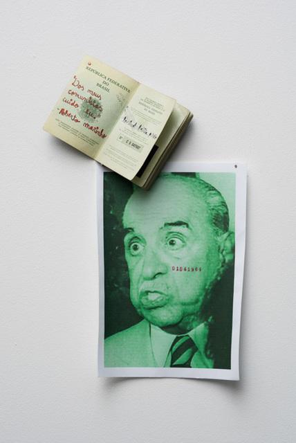 """, 'From series """"Dos meus comunistas cuido eu."""" (Roberto Marinho) #1,' 2018, Baró Galeria"""