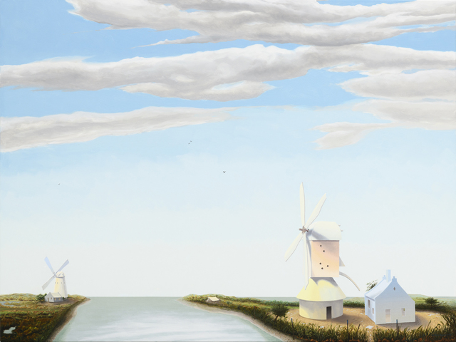 , 'Two Windmills,' 2016, Lora Schlesinger Gallery