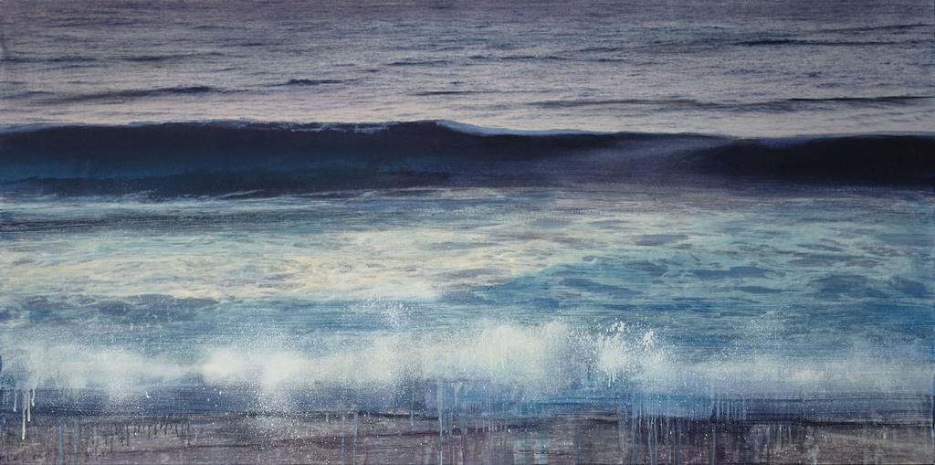 Atlantic Ocean, Watch Hill R.I., (August 29 6:40 A.M., 2000)