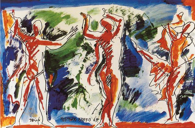 , 'Mistero buffo,' 1969, DIE GALERIE
