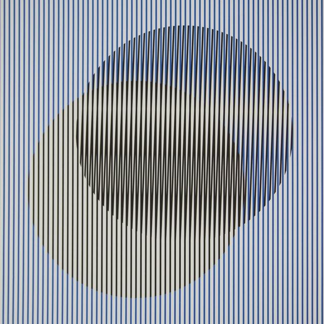 Carlos Cruz-Diez, 'Induction du Jaune Tepuy 3', 2018, Polígrafa Obra Gráfica