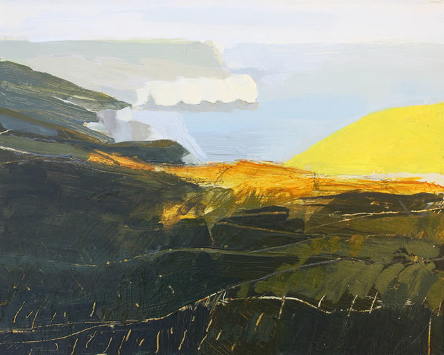 , 'Evening Sun, Yorkshire Coast,' 2015, The Biscuit Factory