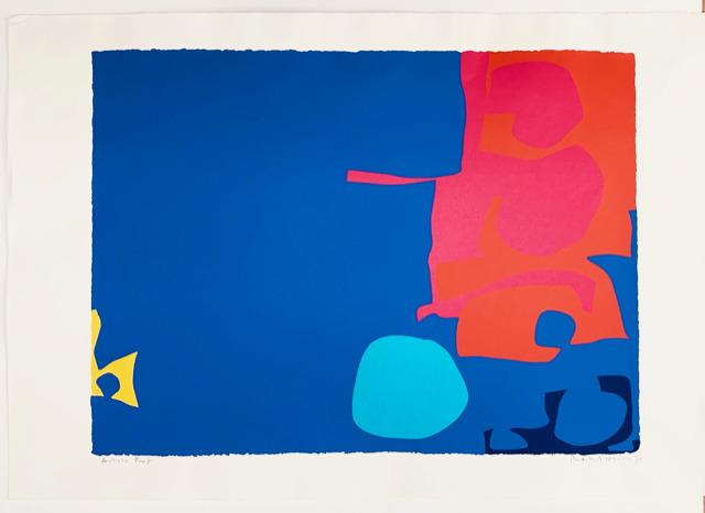 Patrick Heron, 'Interlocking Pink and Vermillion with Blue', 1970, Dellasposa