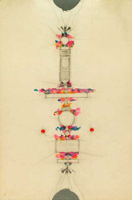, ' Tra sé e sé,  (Between self and self),' 1987, Noire Gallery