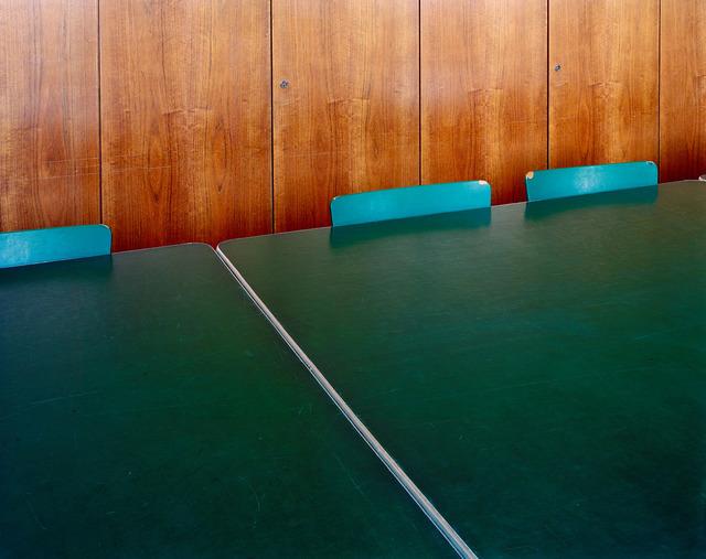 , 'Museumstisch mit Stühlen,' 2008, FELD+HAUS