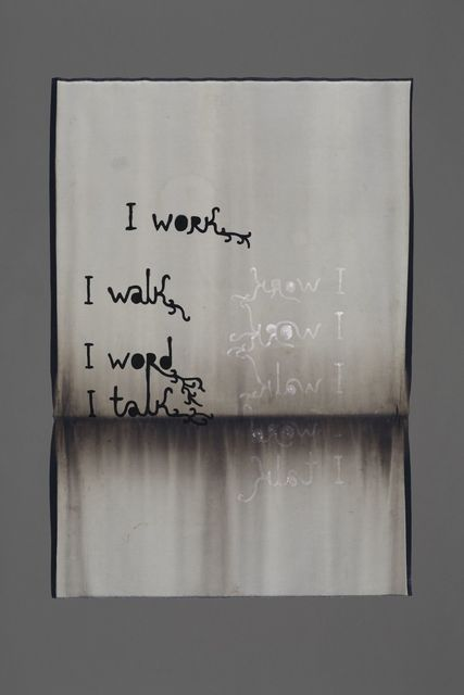 , 'I work I work,' 2015, Jérôme Poggi