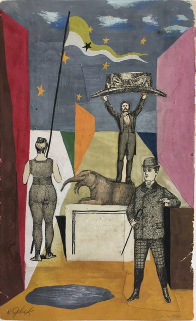 , 'Untitled (1-1-1944),' 1944, Luis De Jesus Los Angeles