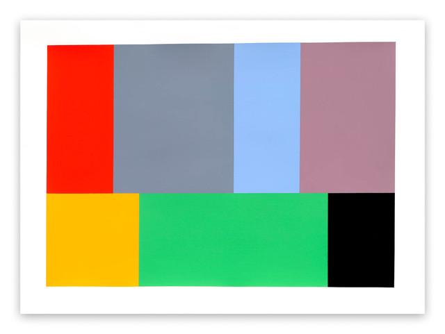 , 'Test Pattern 11 (Kelly),' 2005, IdeelArt
