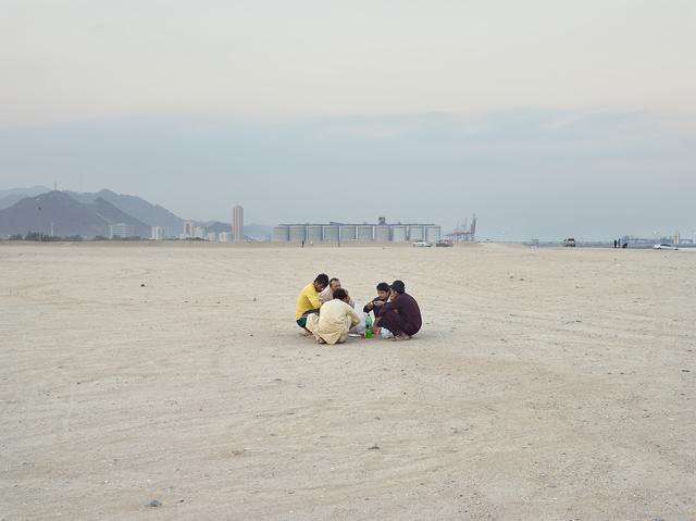 , 'Men eating, Fujairah (UAE),' 2014, Circuit Gallery