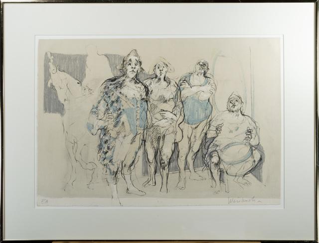 Claude Weisbuch, 'Le Parade,AP', 1968, David Barnett Gallery