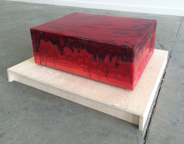 , 'Red Parade,' 2016, Romer Young Gallery