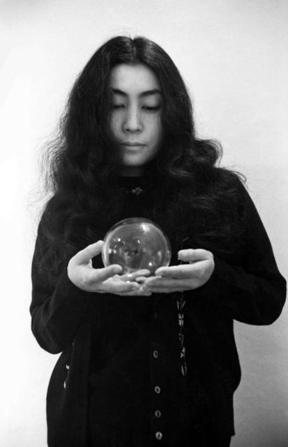 , 'Yoko Ono (with glass sphere) ,' 1967, England & Co