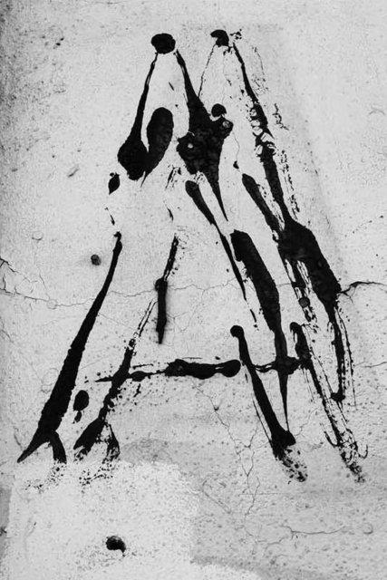 Shannon Ebner, 'Hic et Nunc A', 2012, Altman Siegel