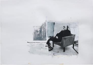 Adrian Ghenie, 'Study for 'Self-Portrait as Charles Darwin',' 2011, Phillips: 20th Century and Contemporary Art Day Sale (February 2017)