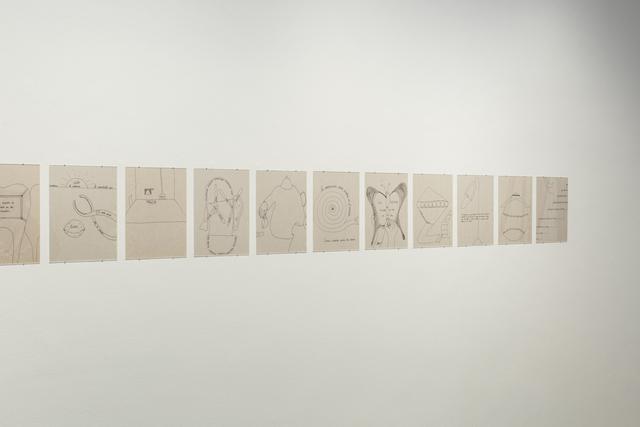 , 'El mundo secreto de las imágenes (The secret world of images),' 2018, Travesia Cuatro