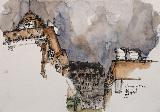 PAUL NICKSON ATIA, 'Jalan Sultan', 2016, Galeri Rumah Lukis