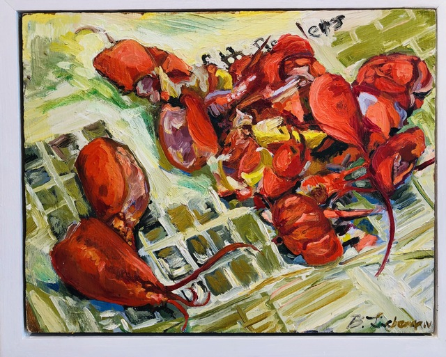 , 'Lobster Times,' 2000, BCK Fine Arts Gallery at Montauk