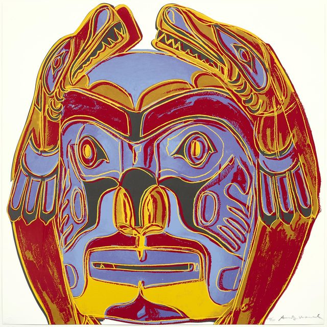 Andy Warhol, 'Northwest Coast Mask', 1986, Koller Auctions