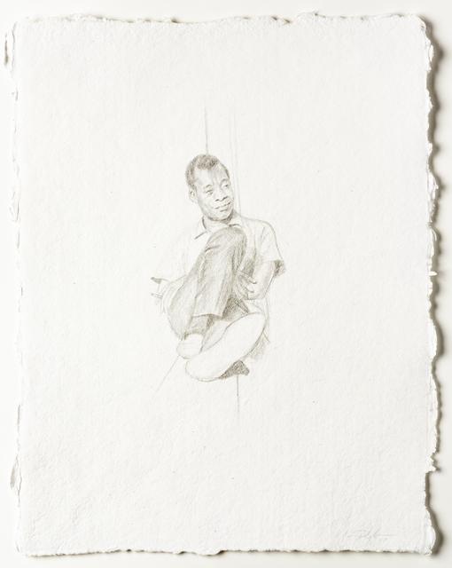 , 'Rest: Native Son In Paris,' 2017, David Klein Gallery