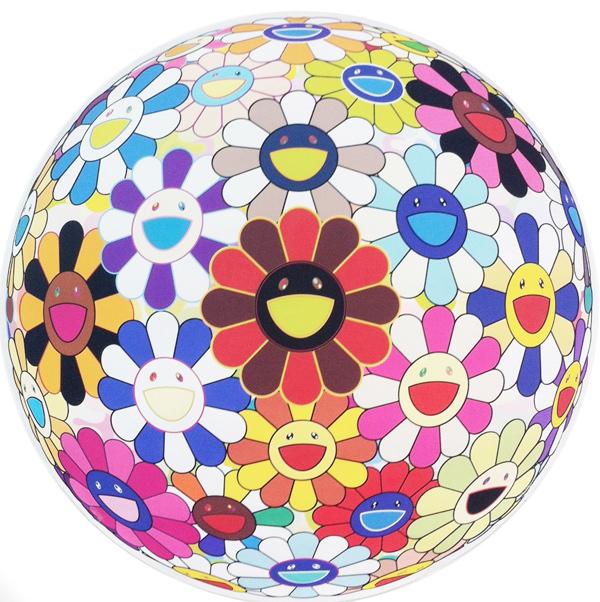 Takashi Murakami, 'Flower Ball (3D) Lot of colors', 2013, Gallery Delaive