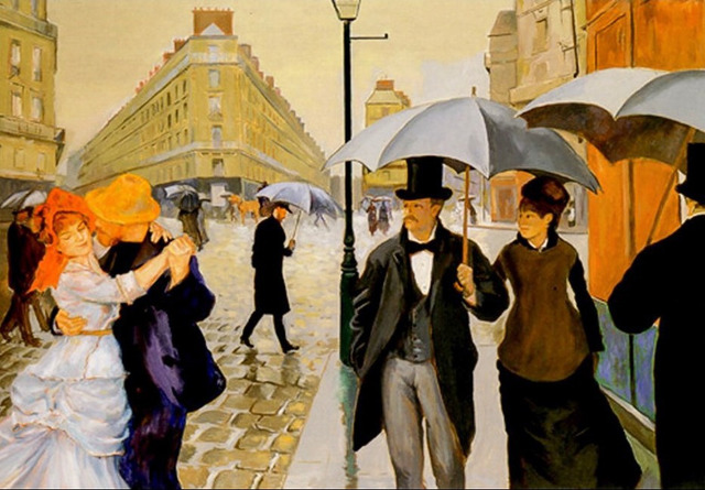 , 'The Way We Were (after Caillebotte, Renoir),' , LatchKey Gallery
