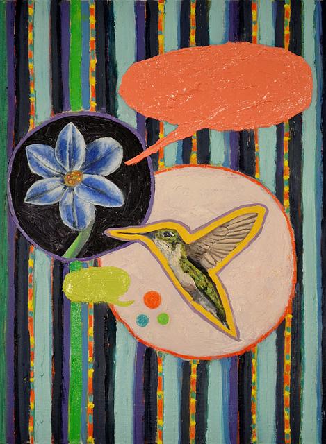 , 'Flower Talk,' 2017, Linda Warren Projects